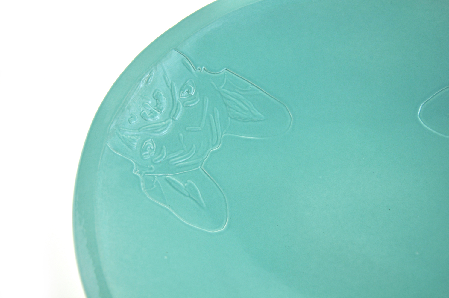 The French bulldog pastel mint series