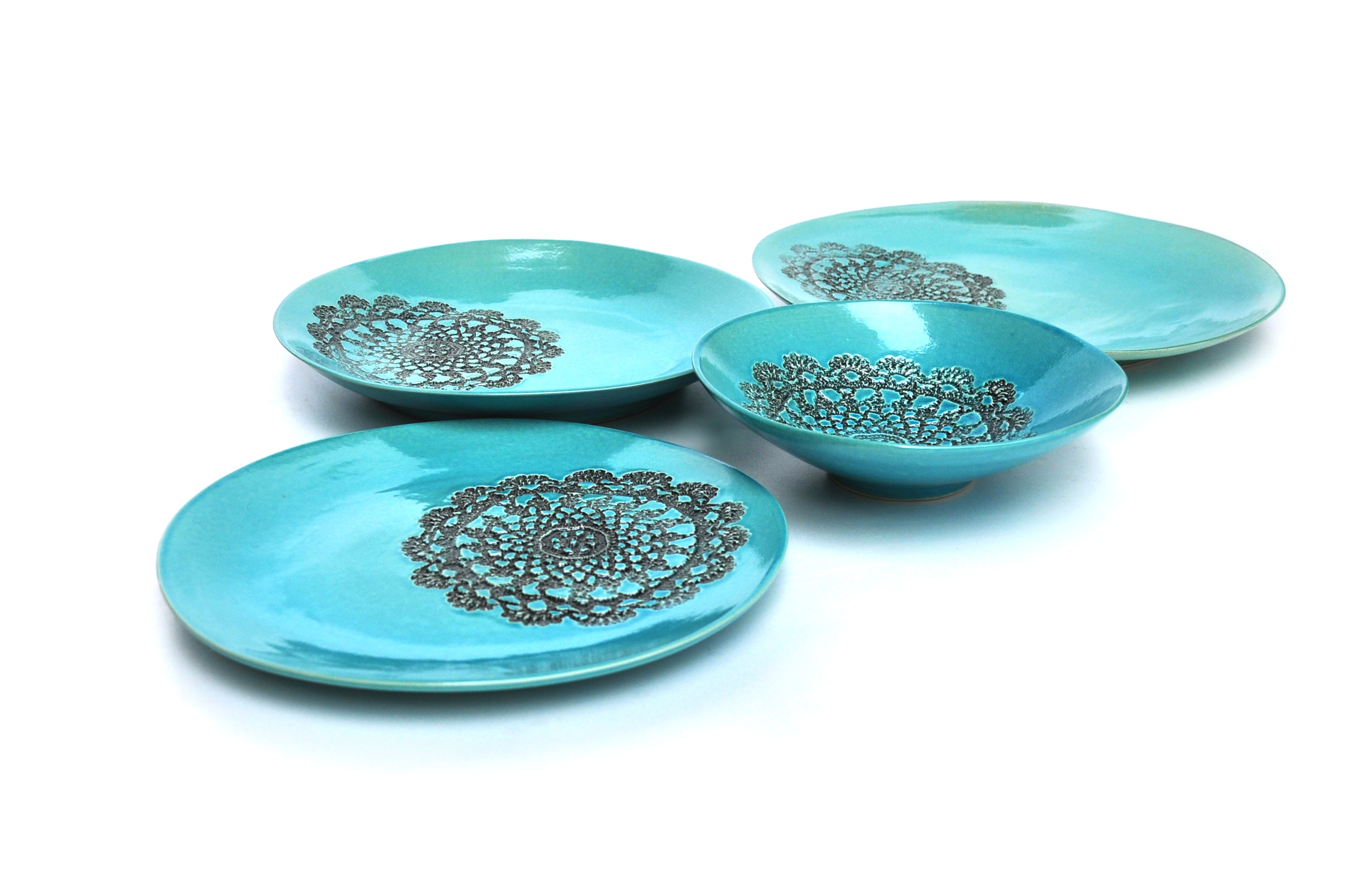 Turquoise Lace Series – set
